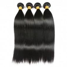 peruvian virgin hair straight human hair bundle